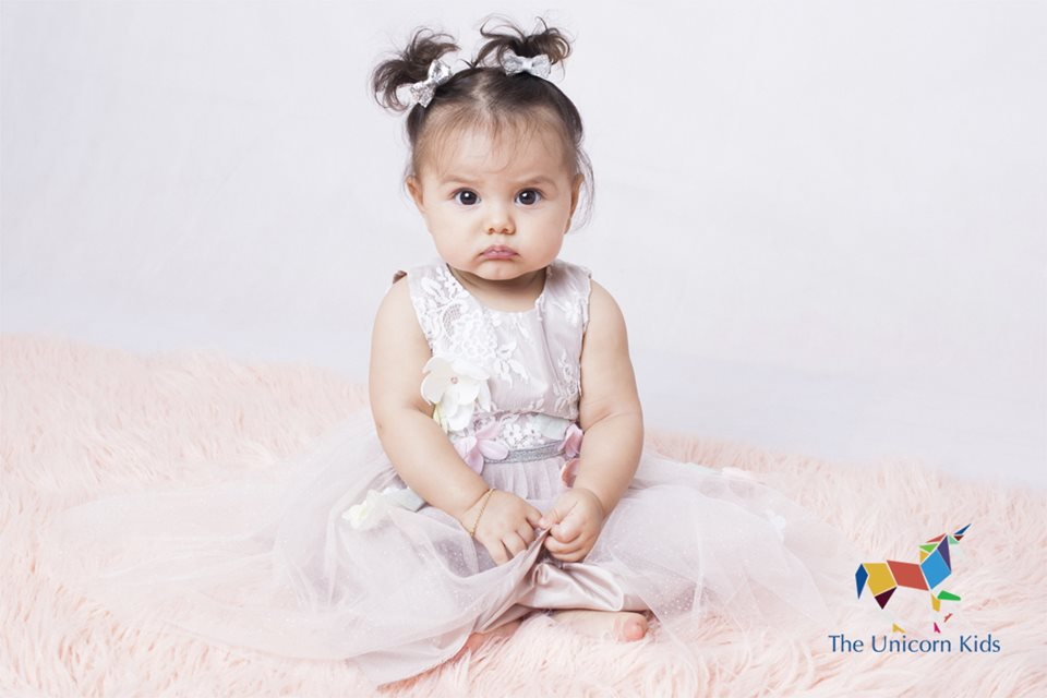 The Unicorn Kids Modelling Agency - Ayla, 6 months old - Represented