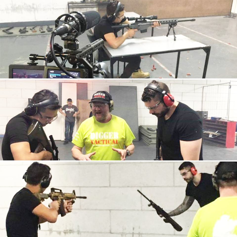THON VAULTRON - Firearms Training for Australian Films & Television