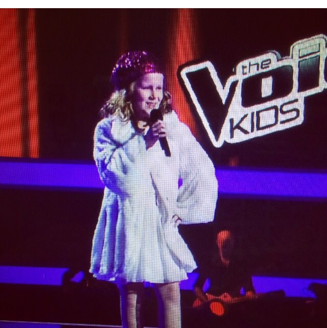 Molly Waters - I was in Mel B's Team on 2014 the Voice Kids
