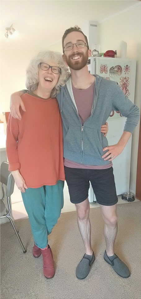 Roslin Lewis (Mum), Raydon (youngest brother)