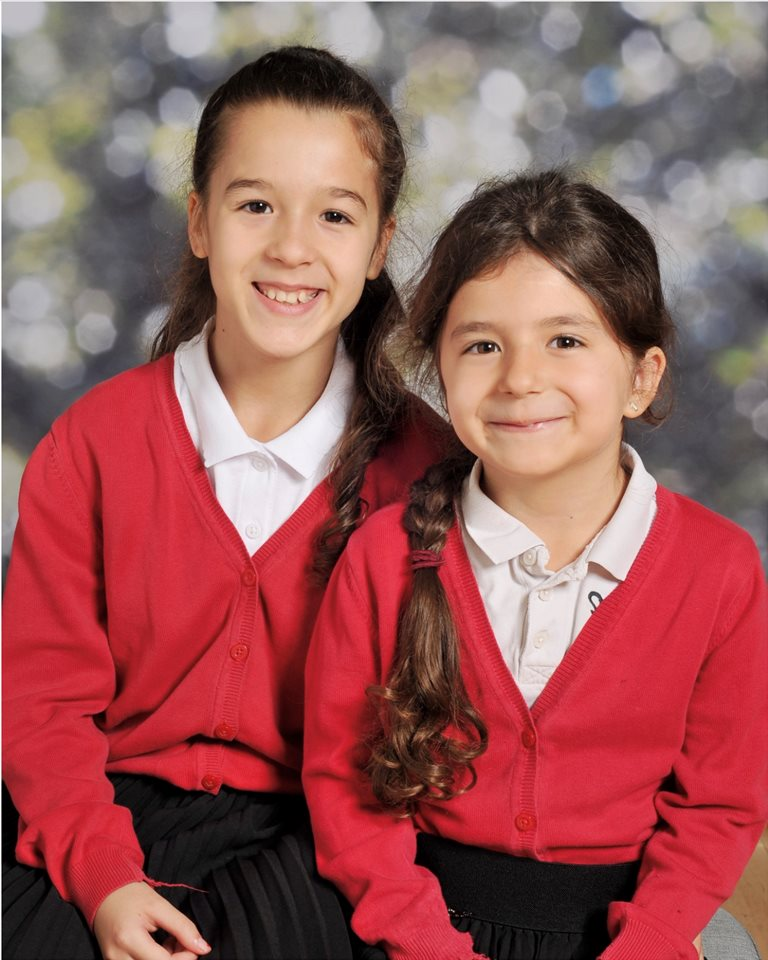 Maria and Victoria 7 and 11