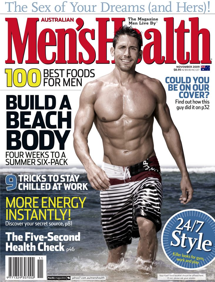 Stephen Denney - Mens Health Cover | StarNow