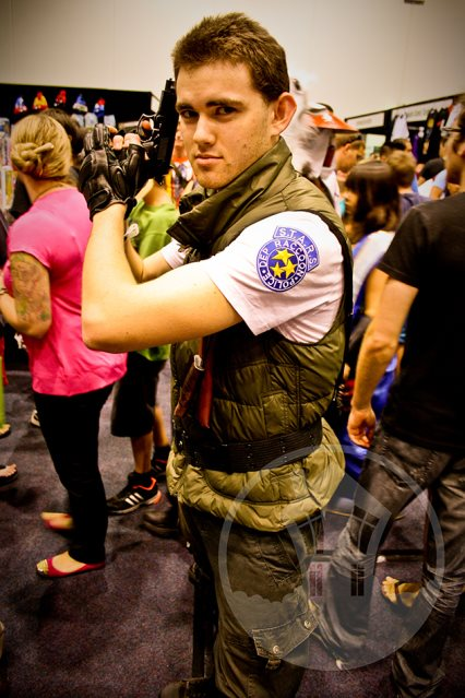 Blake Prosser 2013 Chris Redfield Cosplay Oz Comic Con