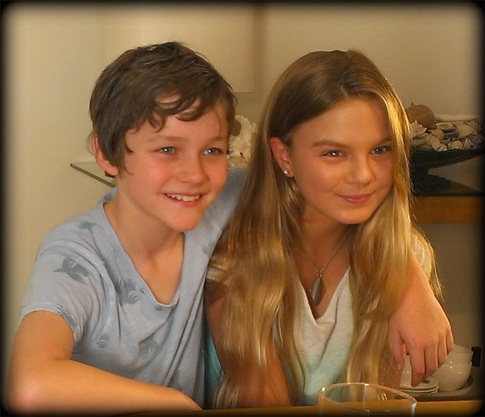 samantha macgillivray   samantha with levi miller pan in