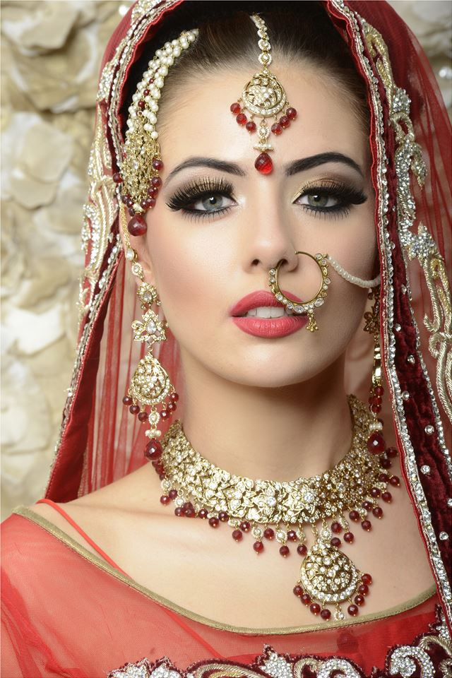 look Asian bridal