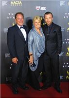AACTA Awards 2014 - Red Carpet with Debra Byrne & Richard Cawthorne