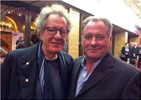 Geoffrey Rush & Jeremy Kewley at the 2014 Melbourne International Film Festival launch