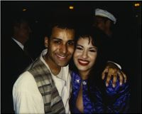 Selena and I back in 1995 after a performance. The last photo we ever took together.