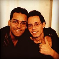 Marc Anthony and I. Brothers for life!