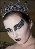 Black Swan Character Makeup