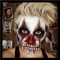 Evil Clown - facepainting