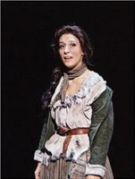 Mercedesz Csampai as Eponine in Les Miserables Aarhus 2014
