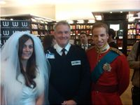 Waterstones, Booksigning, Alison Jackson, Security Guard, Royal, Chris Wilson, Movie, Book, TV,
