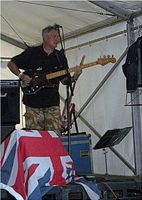Bass Guitarist, Fender precision, Chris wilson, Brighton Fish Brothers Band