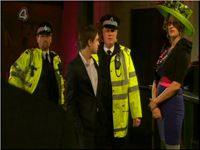 Hollyoaks, Police Officer, for TV Drama, Plod, Copper, Cop, Chris Wilson, Uniform, Film, Movie,