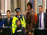 IT Crowd, Police Officer, TV Drama, Plod, Copper, Chris Wilson, Uniform, Film, Movie, Comedy,