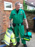 Paramedic old style jump suit