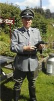 WW2, German SS Officer for TV Reconstruction, Documentory, Film, Movie, Second World War,