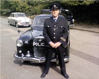 1960s Police Officer, for TV Drama Reconstruction, Plod, Copper, Cop, 1960, Sixties, Film, Movie