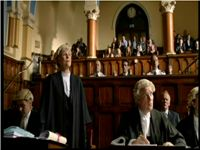 Barrister, DCI Banks, Legal, Law, Chris Wilson, Court, Drama, TV, Movie, Film, Sentence, Judge,