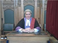Circuit Judge, Barrister, Legal, Law, Chris Wilson, Court, Drama, TV, Movie, Film, Sentence,