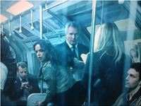 Fast & Furious 6, Movie, Drama, Film, As Rail Commuter, with Michelle Rodriguez, FF6, Tube, London,
