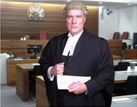 Barrister, Court, legal, Law,Chris wilson, Film, TV, Body Double, Stand In, Film, My costume & Wig,