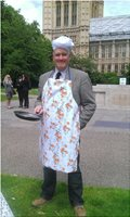 The Amazing Race, MP, Pancake Race, Chris Wilson, Politician, Westminister, London.