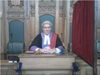 My Genuine High Court Judge or Circuit Judge Costume including Wig, Chris Wilson