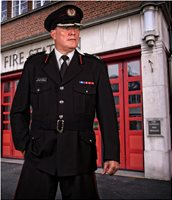 Chief Fire Officer, Chris Wilson, Fire service, my Uniform, Fire engine, rescue, film, tv, drama,