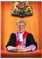 High Court Judge, Own Costume & Wig, Chris Wilson, Court, Legal, Justice,
