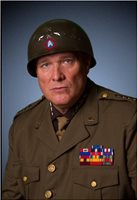 As General George Patton, for Photo Shoot, Own Uniform, Chris Wilson.