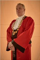 Lord Mayor, Tv, Film, Movie, Own Costume & Chain of Office, Chris, Christopher, Wilson. Mayor,