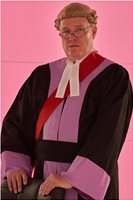Circuit Judge for Recent Film, Legal, Law, Court, Hire, Own Costume, Chris (Christopher) Wilson