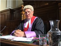 Unforgotten 2 High Court Judge, my Costume and Wig.  Legal, Law,