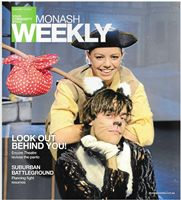 Dick Whittington - Monash Weekly Front Cover - 14 Jan 2013