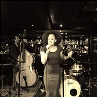 Singing at Ronnie's Bar in Ronnie Scotts