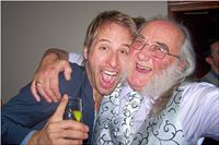 Pete with his nephew Chesney Hawkes