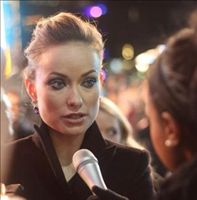 Interviewing Olivia Wilde @ Tron: Legacy première