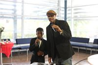 Performing with Wayne Marshall at the Be Proud Awards