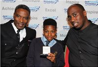 Collecting the Jack Petchey Award