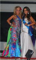 European Princess 2012 with Miss European 2011 Rachel Tate