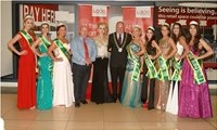 With the Mayor of Portlaoise and my Team at the shopping centre