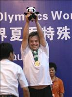 Tim - Gold Medal, Butterfly: Special Olympics World Games, Shanghai,