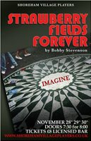 Strawberry Fields Forever stage poster