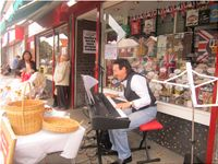 "The Famous ""Swainston's Sweet Shop Busk ""South Shields JLH"