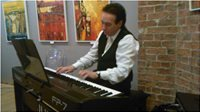 The Biscuit Factory, Newcastle-Upon-Tyne. John Leo Horgan (PIANIST)