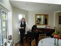 "Anniversary house party in Redcar Teesside ""John Leo Horgan/Pianist"""