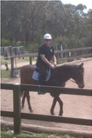 Horse riding at Vision Valley, Sydney
