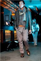 "Modeling for Egoist 2012 Winter Collection ""Progressive Thinker"" at Sale St fashion event"